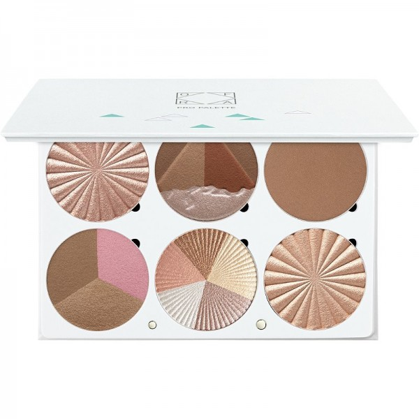 OFRA Pro Paleta highlighters - On The Glow