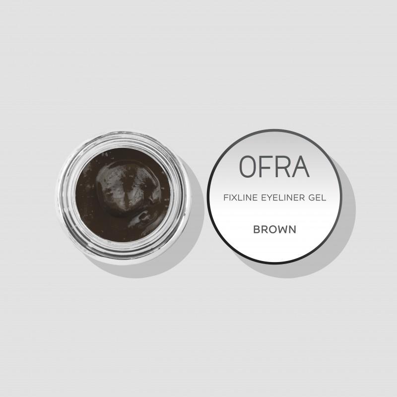 Fixline eyeliner gel brown (smeđi)
