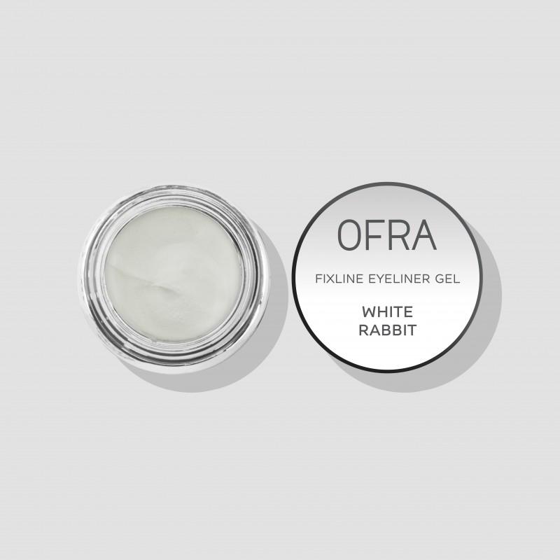 Fixline eyeliner gel White rabbit (bijeli)